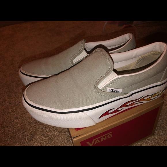 Vans Shoes | Classic Platform Slip On